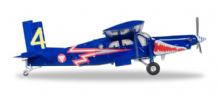 PC-6 Turbo Porter Austrian Air Force Herpa Diecast Collectors Model Scale 1:200 580274 E